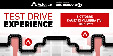 TEST DRIVE con AUTOSTAR/QUATTRORUOTE c'è biglietti