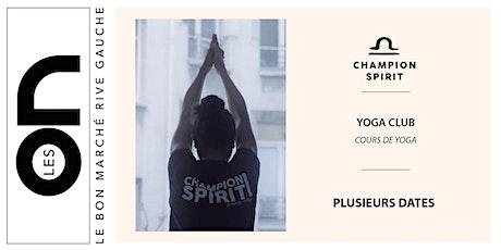 Les ON: Yoga Club Champion Spirit billets