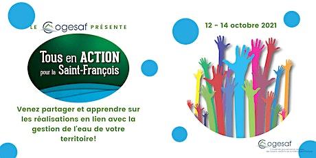Colloque Tous en action pour la Saint-François ingressos