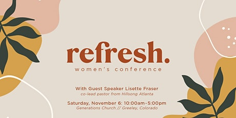 Refresh Women's Conference tickets