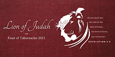 Feast of Tabernacles 2021: Lion of Judah tickets