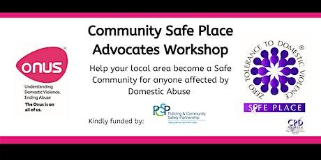 Community Safe Place Advocates Workshop - Mid & East Antrim tickets