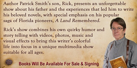 Patrick Smith's Florida is A Land Remembered tickets