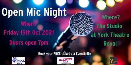 Open Mic Night at York Theatre Royal tickets