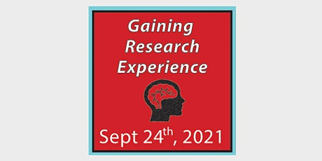 Workshop 2: Gaining Research Experience tickets