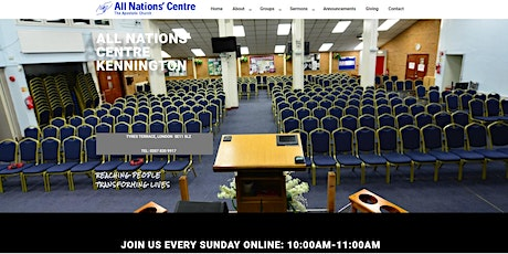 ANC On-Site Church Attendance tickets