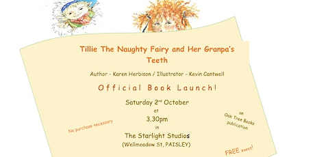 Tillie The Naughty Fairy Launch tickets