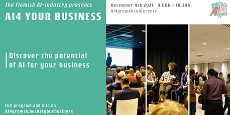 AI4 your business (AI4growth conference) tickets