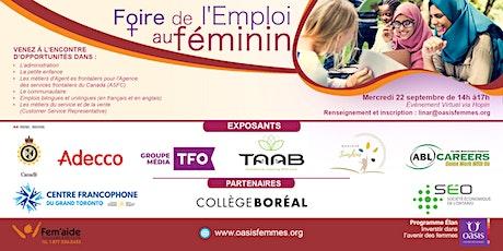 Foire de l'emploi au Féminin - Élan Investir dans l'avenir des femmes billets