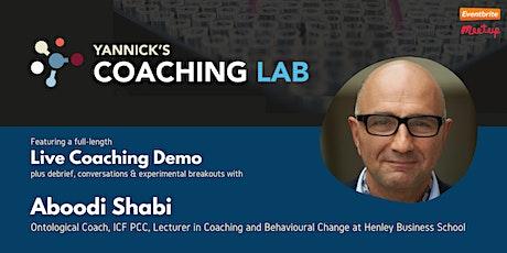 Yannick's Coaching Lab: Ontological Coaching w/ Aboodi Shabi tickets
