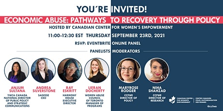 Economic Abuse: Pathways to Recovery Through Policy tickets