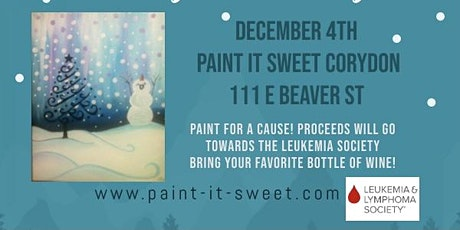 Paint for a cause, Leukemia & Lymphomia society tickets