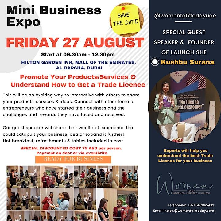 Women Talk - Mini Business Expo image