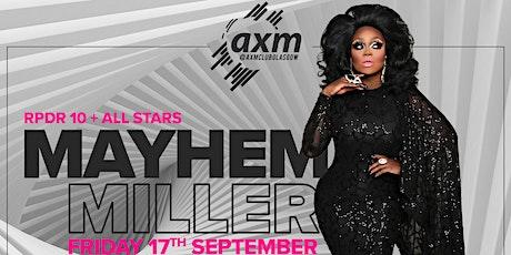 Mayhem Miller at AXM Club Glasgow tickets