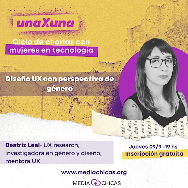 Imagen de Una x Una: Diseño UX con perspectiva de Género