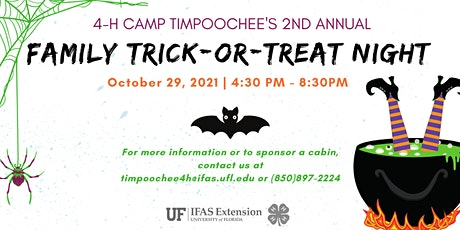 2nd Annual Timpoochee Family Trick or Treat Night tickets