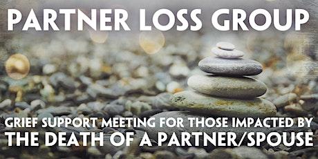 ONLINE Partner/Spousal Loss Support Meeting - NOV tickets