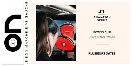 Les ON:  Women Empowerment Boxing Club Champion Spirit billets