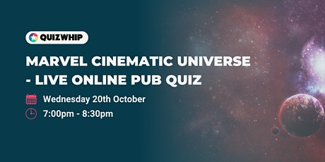 Marvel Cinematic Universe - Unofficial Live Online Pub Quiz tickets