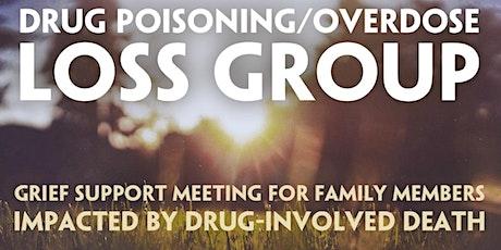 ONLINE Drug Poisoning/Overdose Loss Support Meeting NOV tickets