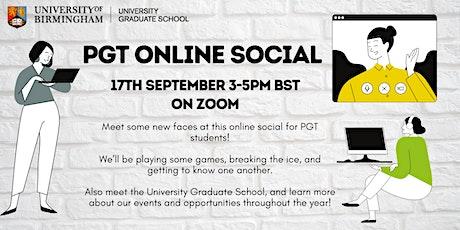 PGT Online Social tickets