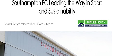 Southampton FC leading the way in Sustainability tickets