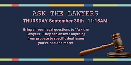 Ask the Lawyers tickets