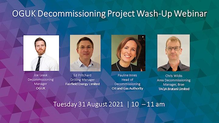 OGUK Decommissioning Project Wash Up Webinar image