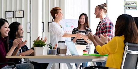 How to Create a Mentally Healthy Workplace Webinar biglietti