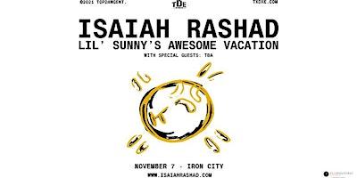Isaiah Rashad: Lil Sunny's Awesome Vacation