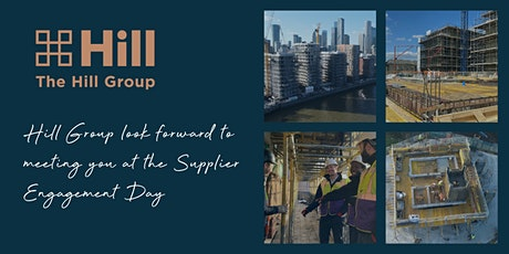 Hill Supplier Engagement Day tickets