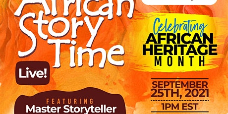 African Storytelling Live Tickets
