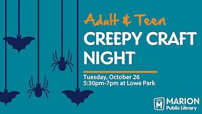 Creepy Craft Night tickets