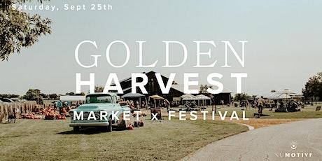 Golden Harvest: A Market x Festival By Nu Motive tickets