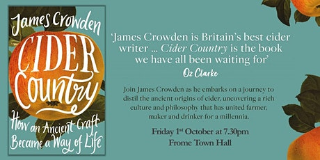 Cider Country with James Crowden tickets