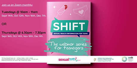 SHIFT (Sexual Health Information For Teens): The Webinar Series tickets