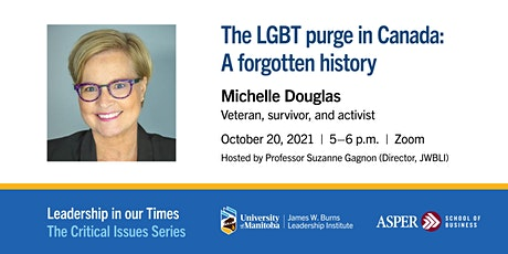 The LGBT Purge in Canada: A forgotten history tickets