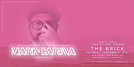 Mark Farina [3 Hour Set] at The Brick tickets