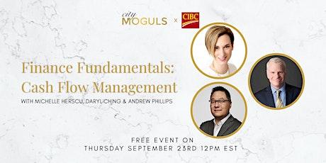 Finance Fundamentals: Cash Flow Management - Presented by: CIBC tickets
