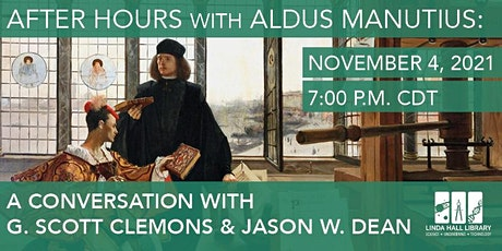 After Hours with Aldus Manutius tickets