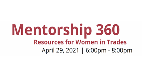 Mentorship 360: Cannabis in the Skilled Trades tickets