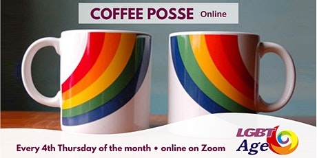 Coffee Posse Online (LGBT Age 50+) tickets
