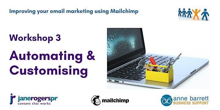 Workshop 3 - Mailchimp online workshops