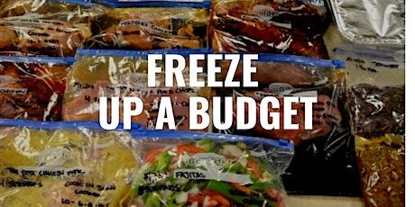 Freeze Up a Budget tickets