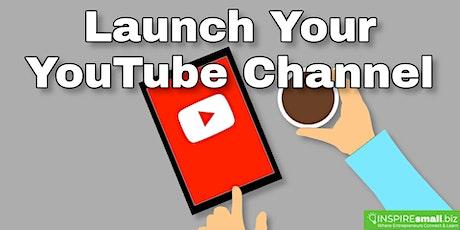 Launching Your YouTube Channel Webinar boletos