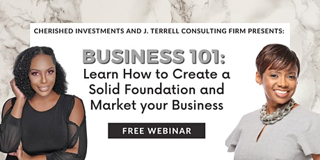 Business 101: Create a solid foundation and market your business tickets