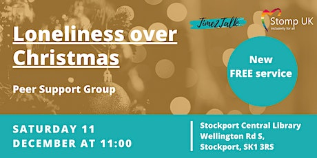 Loneliness over Christmas - Peer Support Group tickets