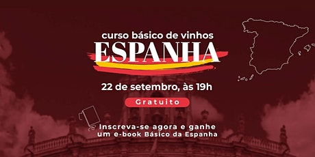 Curso Básico de Vinhos da Espanha ingressos