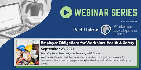 Employer Obligations for Workplace Health & Safety tickets