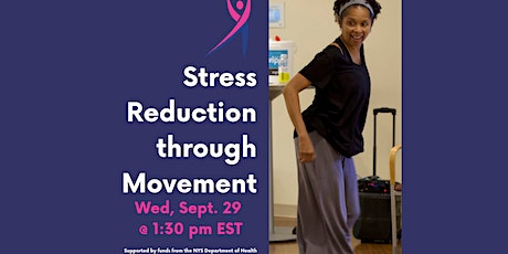 Moving For Life Lecture: Stress Reduction Through Movement tickets